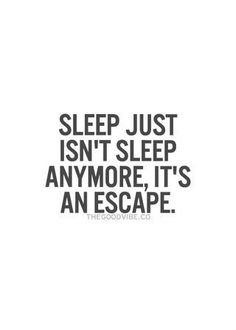 When u can actually sleep.
