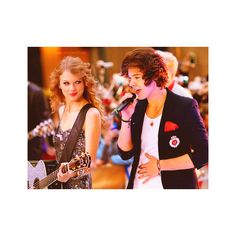 Latest photos of Taylor Swift and Harry Styles ❤ liked on Polyvore
