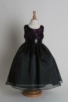 1af2fe73a 210 Best Black Flower Girl Dresses images