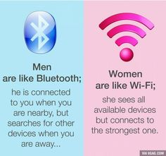 Funny pictures about Men And Women Are Like Technology. Oh, and cool pics about Men And Women Are Like Technology. Also, Men And Women Are Like Technology photos. Reality Quotes, Mood Quotes, Girl Quotes, Funny Quotes, Sassy Quotes, Heart Quotes, Funny Facts, Wisdom Quotes, Boys Vs Girls