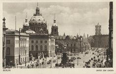 Berlin-Mitte, Unter den Linden 1937