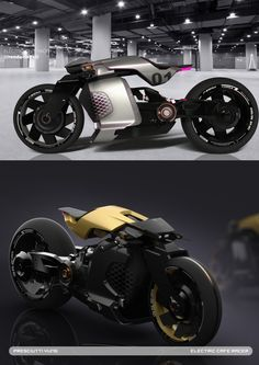 Short project to explore the potential of an electric CAFE racer