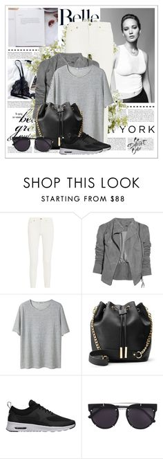 """Now I'm on the edge"" by ninotchka-nb ❤ liked on Polyvore featuring Acne Studios, Lot78, T By Alexander Wang, NIKE, Vera Wang and New Growth Designs"