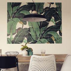 Ixxi design banana leaf