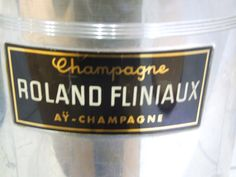 Roland Fliniaux Champagne Ice Bucket// by VintageRetroOddities