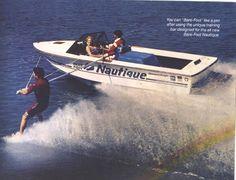 Vintage Ski Boat Brass Fin Nautique