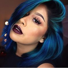 HAIRSPIRATION  This color is mind blowing Consider trying something new for #2015! Please tag the source    Use #VoiceOfHair to be featured! ========================= Go to VoiceOfHair.com ========================= Find hairstyles and hair tips! =========================