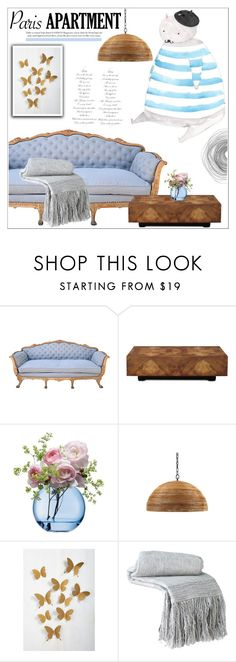 """""""The Perfect Paris Apartment"""" by deeyanago ❤ liked on Polyvore featuring interior, interiors, interior design, home, home decor, interior decorating, Patina Vie, John-Richard, LSA International and Jayson Home"""