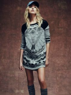 Free People FP New Romantics Third Eye Dress at Free People Clothing Boutique
