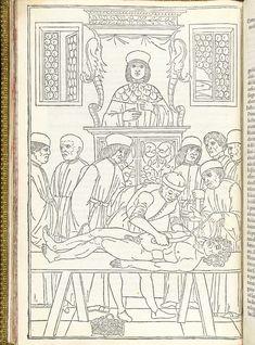 Ketham, Johannes de (15th century). Fasiculo de medicina. Venice, Zuane & Gregorio di Gregorii, 1494.