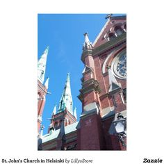 St. John's Church in Helsinki Custom Stationery