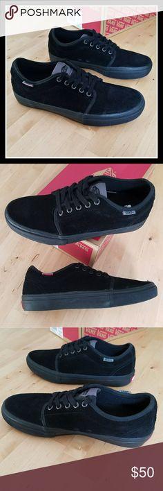 a5e0b62d67aeeb Vans Blackout Chukka Low Pro Brand new with box Vans Black on Black on Black  Chukka Low Pro. Box VanVans ShoesBoat ...