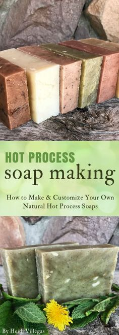 The Secret to Making and Customizing Your Own Hot Process Soap — Home Healing Harvest Homestead
