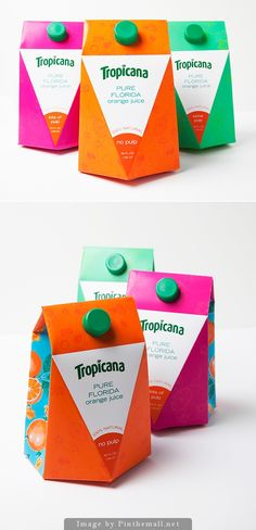Tropicana Orange Juice Packaging PD