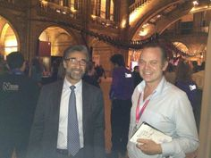 NaturalHistoryMuseum @NHM_London  Thank you to the EU for supporting #SU2012 and European Researchers' Night. Sandro Ricci (left) was here to enjoy it. yfrog.com/ocsb6njj