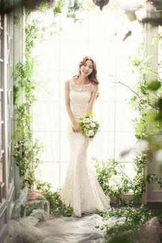 Korea Pre-Wedding in Studio by May Studio  www.OneThreeOneFour.com | Book you dream wedding photographer, anywhere in the world.