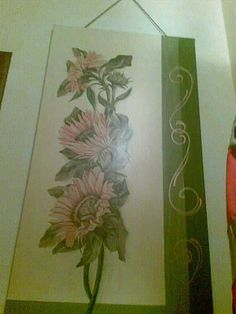 Decoupage e pittura