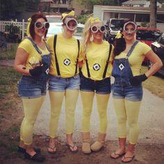 Despicable me Minion costumes!