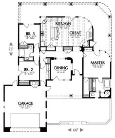 Our best selling plans all in one place. Easily find the most popular house plans purchased by people like you, and see what makes them a top choice. Small House Plans, House Floor Plans, Pueblo House, Southwestern Home, Architectural Design House Plans, Small Living, Great Rooms, 3 D, House Design