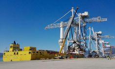 Container Cranes Safely delivered in Vigo