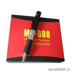 4GB High Resolution Premium Spy Pen Camera