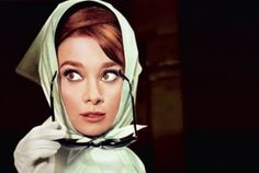 Paris as seen by Hollywood exhibit  Audrey Hepburn dans Charade, 1963, de Stanley Donen. © 1963 Universal Pictures Company, Inc. and Stanley Donen, Inc. © Photo Vincent Rossell / visuel TCD.
