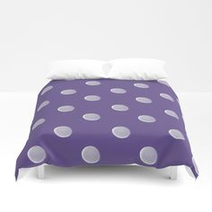 Polka Dots Duvet Cover by painting Soft Duvet Covers, Twin Xl, King Queen, Hand Sewn, Polka Dots, Cozy, Zipper, Bedroom