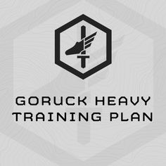 Demanding, 6-week training program specifically designed to prepare athletes for the GORUCK Heavy. Complete directly before your GORUCK Heavy.