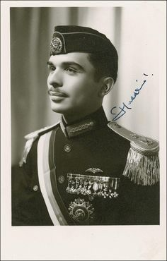 A very young King Hussein