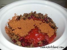 Cookies Kitchens: Slow Cooker Chili