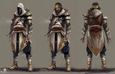 Artes de Dechambo para Assassin's Creed Revelations | THECAB - The Concept Art Blog