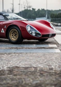 """itsbrucemclaren: """"——— the Alfa Romeo Tipo 33 Stradale ————- """" Ladies and gentlemen, the most beautiful car ever made."""