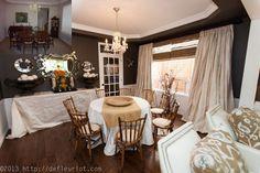 colourworks interior design diningroom remodel