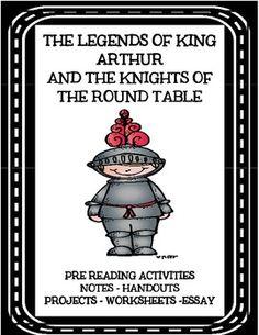 king arthur writing assignment