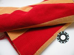 Gryffindor scarf / W kolorach Gryffindor by Alina Tyro-Niezgoda / Tender December Kliknij, by zamknąć