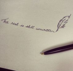 Een brief van je kleine meisje…