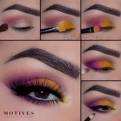 Eye Makeup Tips – How To Apply Eyeliner – Makeup Design Ideas Eye Makeup Steps, Makeup Eye Looks, Cute Makeup, Skin Makeup, Makeup Brushes, Weird Makeup, Awesome Makeup, Easy Makeup, Makeup Goals