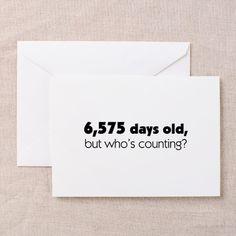 18th Birthday Greeting Cards (Pk of 10)