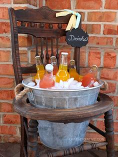 Repurpose Old Chairs - New Uses for Thrift Store Vintage Chairs - Good Housekeeping#slide-1