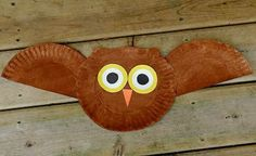 Fall Craft Project for Kids #Owl #Simple
