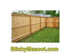 Great share  Wood Fence Styles003