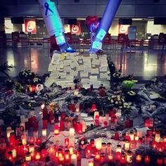 Dass, was niemand erwartet hat ist passiert...✈ Ruhet in Frieden ihr Engel May your route turn to heaven... May God bless & keep they always R.I.P. #indeepsorrow #unitedbywings #4U9525 #DUSAirport #Germanwings #Lufthansa