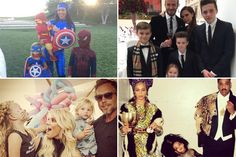 Celebrate Thanksgiving With the 26 Best Celebrity Family Photos