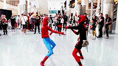 When my best friend and I are on the dance floor gif