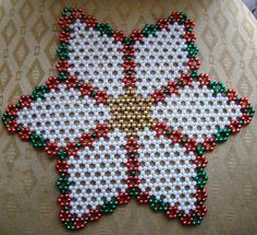 Beading Tutorials, Beading Patterns, Beaded Banners, French Beaded Flowers, Beaded Christmas Ornaments, Beaded Crafts, Beaded Bags, Bead Jewellery, Loom Beading