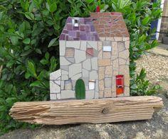 Even a mosaic house needs a shed!