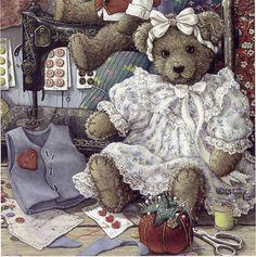 Bears 'n Bows by janet kruskamp