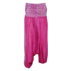 bbdfc4555ff3 Mogul Interior - Mogul Women s Yoga Harem Pants Pink Paisley Print Yoga  Jumpsuit Romper Dress - Walmart.com