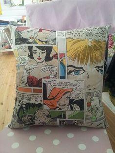 Pin up pillows