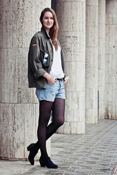 Military #outfit #look - Kiss my Butz